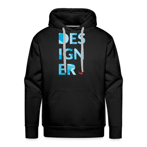 Designer Tee - Men's Premium Hoodie