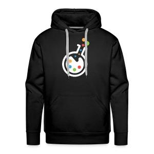 RIMOSA - White Beaker-Only Logo - Men's Premium Hoodie
