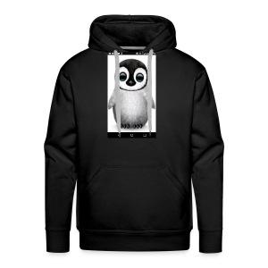 Penguin phone - Men's Premium Hoodie