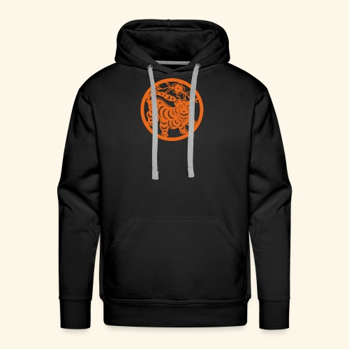 asian tiger - Men's Premium Hoodie