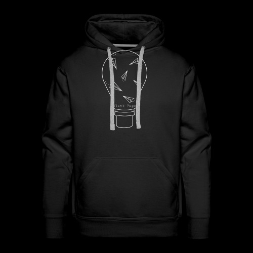 Blank Page Lightbulb - Men's Premium Hoodie