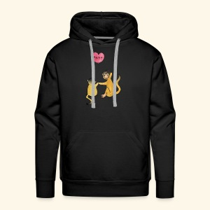 Monkey Family for Yuri - Men's Premium Hoodie