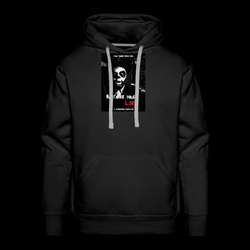 Nightmare House Lore Dr. Voodoo Poster - Men's Premium Hoodie