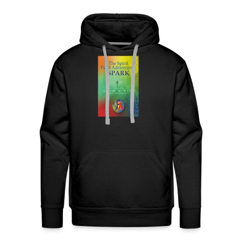 The front cover for The Spirit Field Adventures. - Men's Premium Hoodie