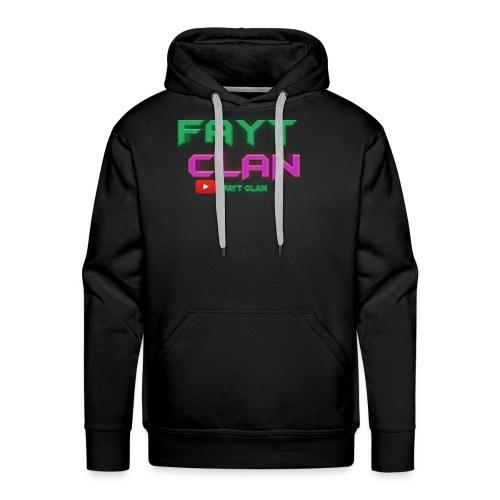 Fayt Clan Logo - Men's Premium Hoodie