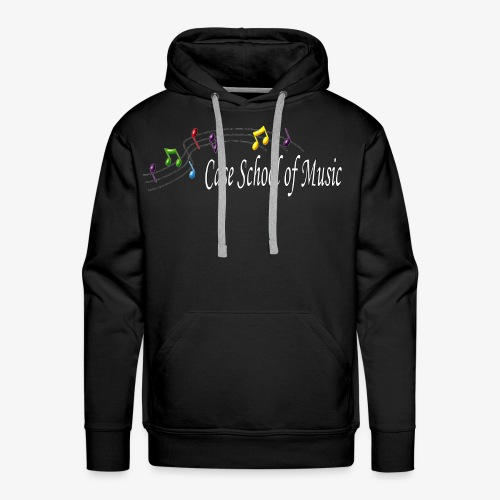 Case School of Music Logo - Men's Premium Hoodie