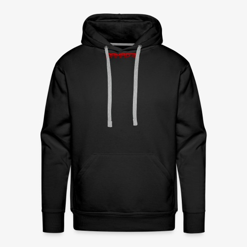 Damag3-tagline - Men's Premium Hoodie