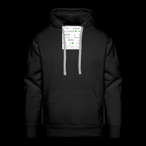Believer in Luck - Men's Premium Hoodie
