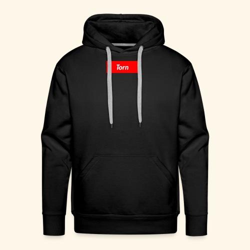 Torn Box Logo - Men's Premium Hoodie