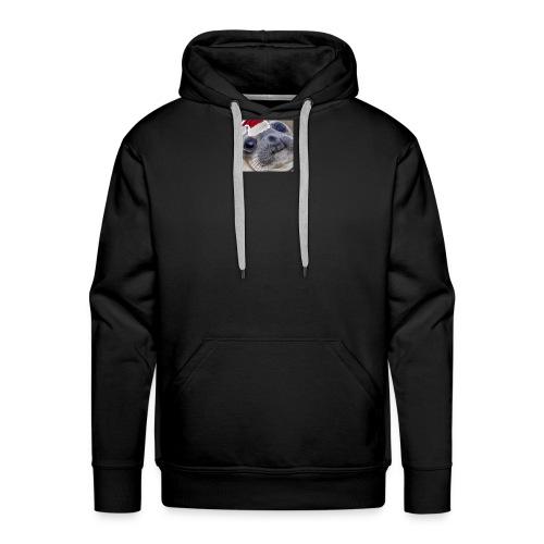 Christmas Seal - Men's Premium Hoodie