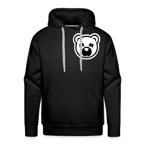 Bear Minimum Design - Men's Premium Hoodie