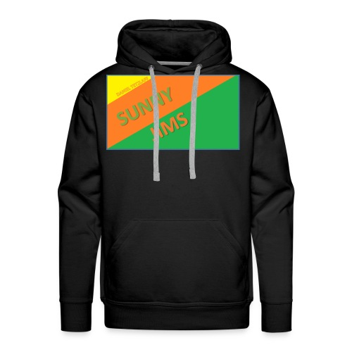 Sunny Jims YouTube Shirt Hoodie (Official) - Men's Premium Hoodie