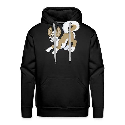 Crouching Chihuahua - Men's Premium Hoodie
