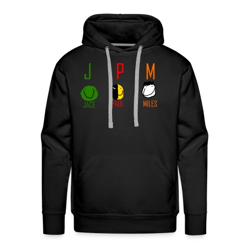JPM merch logo 1 - Men's Premium Hoodie