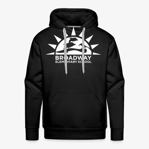 Broadway Elementary Logo - Men's Premium Hoodie