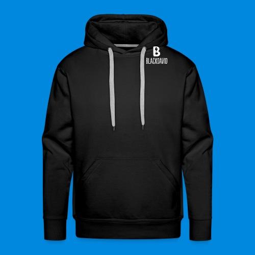 White blackdavid - Men's Premium Hoodie