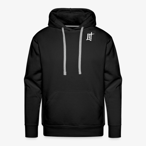 lit logo chest mens premium t shirt - Men's Premium Hoodie