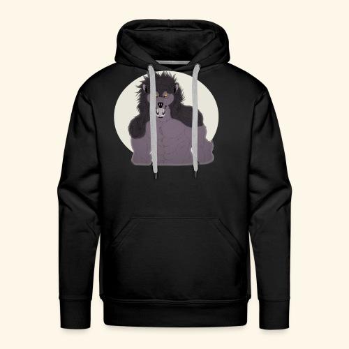 Werewolf TSHIRT Design - Men's Premium Hoodie