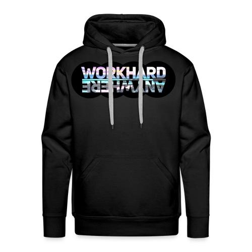 Work Hard Anywhere - Men's Premium Hoodie
