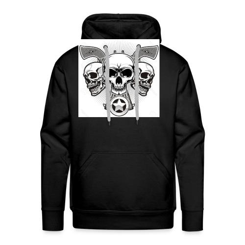 Skulls - Men's Premium Hoodie