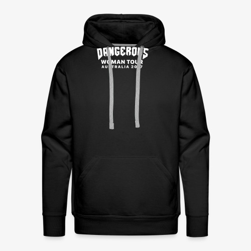 Dangerous Woman Tour Australia 2017 - Men's Premium Hoodie