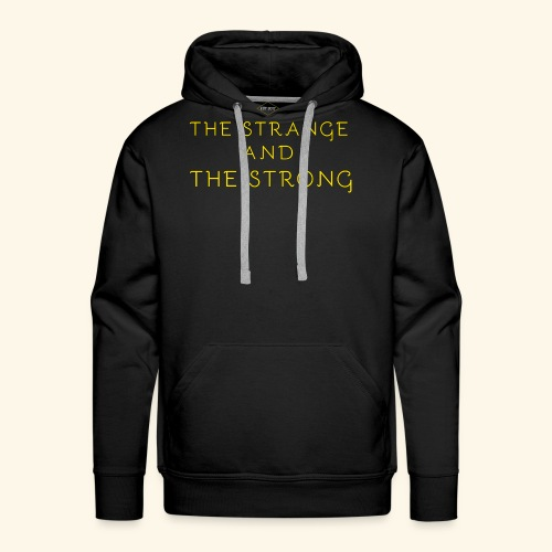 The Strange and The Strong Apparel - Men's Premium Hoodie
