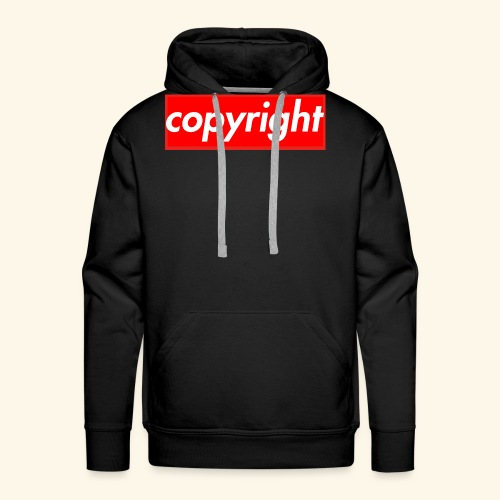 copyright - Men's Premium Hoodie
