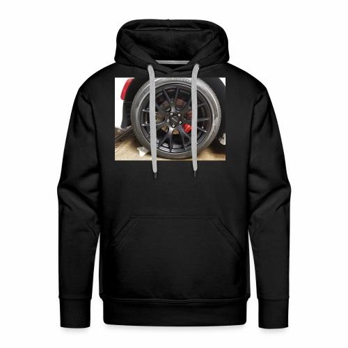 I have the wheel show me the way - Men's Premium Hoodie