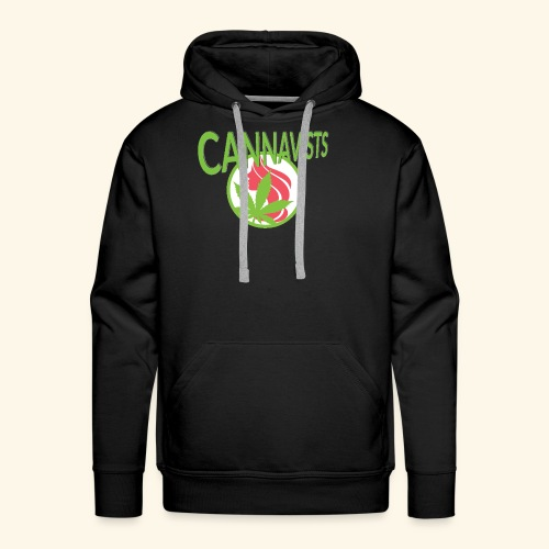 CANNAVIST logo - Men's Premium Hoodie