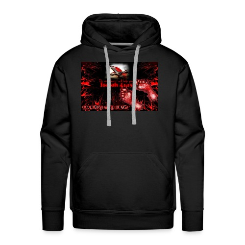 Isaiah 41:13 crucify my flesh - Men's Premium Hoodie