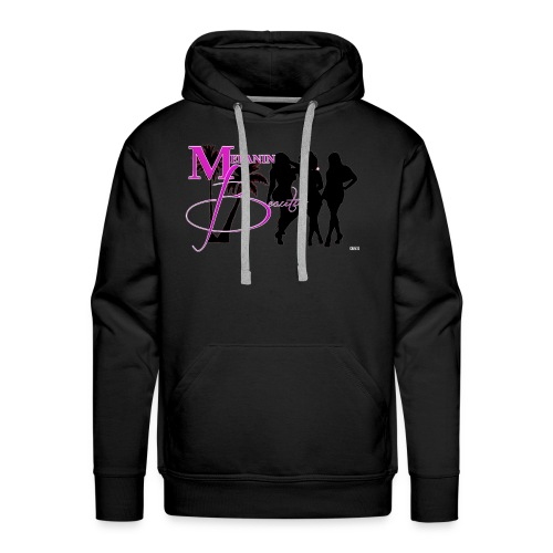 CRAVUS MELANIN BEAUTIES 22 - Men's Premium Hoodie