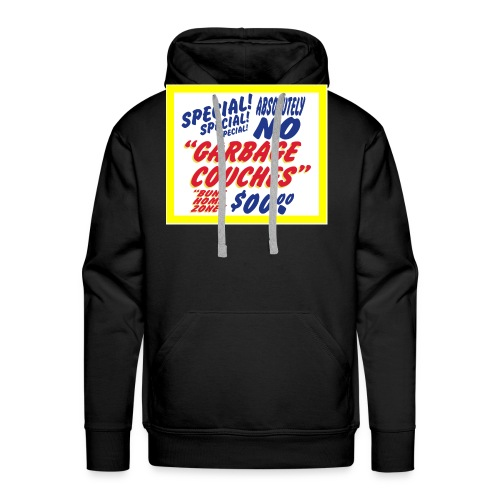 Bunz Home Zone Loyal Larry Garbage Couch - Men's Premium Hoodie