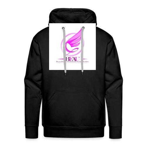 BFAU wing logo - Men's Premium Hoodie