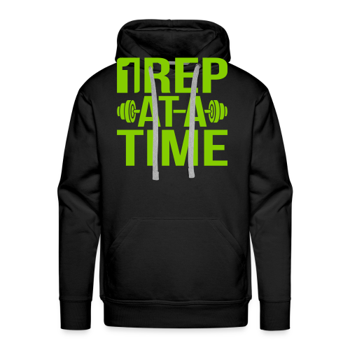 1Rep at a Time - Men's Premium Hoodie