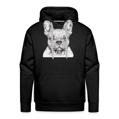 French Bulldog - Men's Premium Hoodie