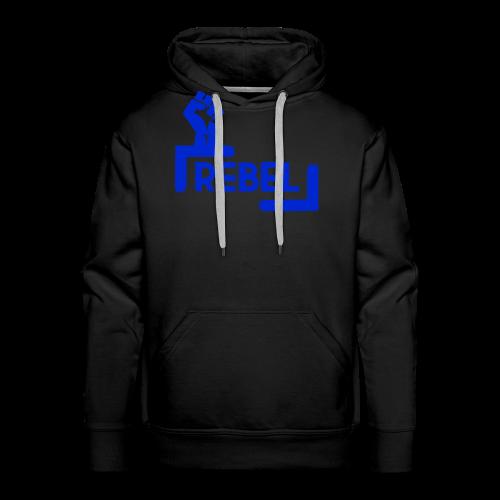 Blue Rebel Design - Men's Premium Hoodie