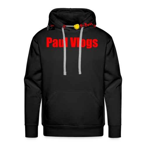 Camera + Paul = Paul Vlogs - Men's Premium Hoodie