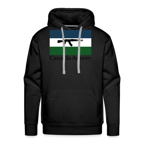 Cascadia Armory Logo - Men's Premium Hoodie