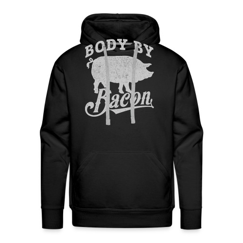 Body by Bacon - Men's Premium Hoodie
