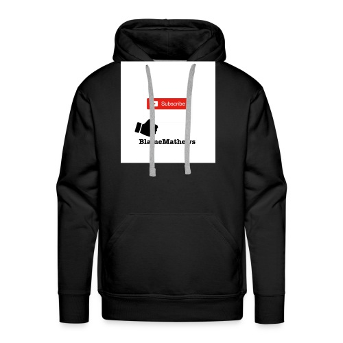 Youtube Like and Subscribe - Men's Premium Hoodie