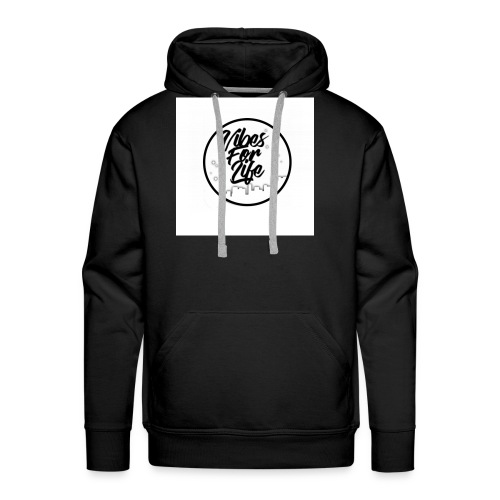 Vibes For Life Brand - Men's Premium Hoodie