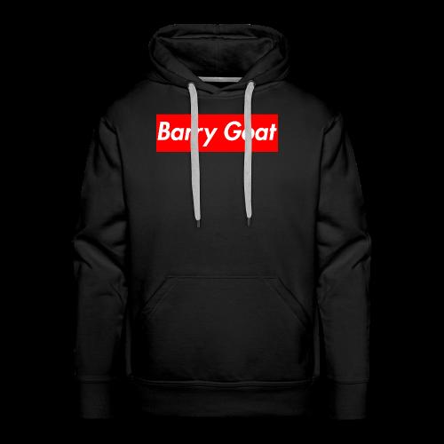 Barry Goat Box Logo - Men's Premium Hoodie