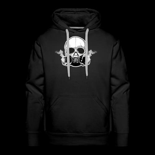 WarBoy Smokin' Skull - Men's Premium Hoodie