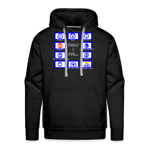 Today I feel... Moreminds Edition - Men's Premium Hoodie