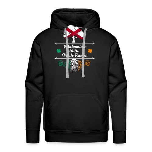ALABAMIAN WITH IRISH ROOTS - Men's Premium Hoodie