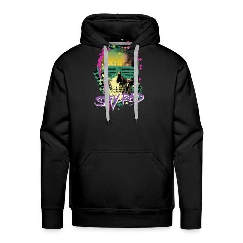 Stay Rad Skull - Men's Premium Hoodie
