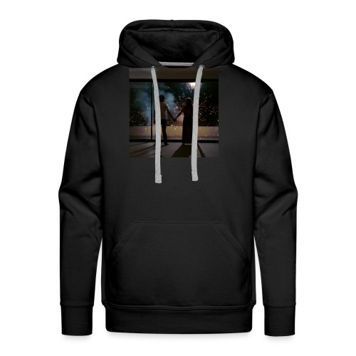 Mum look at me, I'm really okay. - Men's Premium Hoodie
