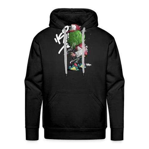 1 Buds Head Graffiti - Men's Premium Hoodie