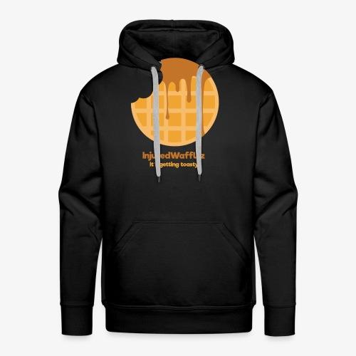 InjuredWafflez It's Getting Toasty - Men's Premium Hoodie