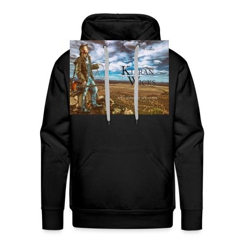 Sticking to My Guns by Kieran Wicks Album Cover - Men's Premium Hoodie